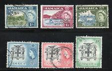 Jamaica - SG# 168 - 172 Used   -     Lot 0820003