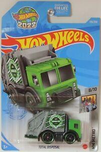 2021 Hot Wheels Total Disposal Green 139/250 HW Metro #8 GRX85