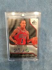 09-10 Upper Deck UD SP Signature Derrick Rose NBA AUTO SIGNIFICANCE