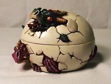 Dragon Egg Trinket Box, 3 1/4 Inches Tall, Resin