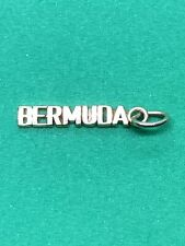 14K Yellow Gold Bermuda Charm