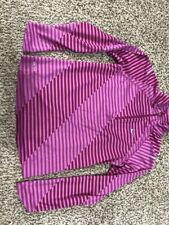 Nike Element Girls SZ Medium 1/4 Zip Running Shirt Dri Fit 596470 Pinks