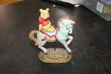Disney New England Collector's Society Carousel Winnie The Pooh Horse Ltd 9500