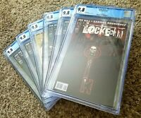 Locke & Key Welcome To Lovecraft (2008) Complete 9.8 CGC Set (1-6)1st Print Wow!