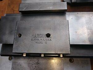 Hardinge Model 'G' Lathe Compound / Cross Slide Exc.!!