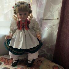"Susan Wakeen Gretel 18"" Porcelain Dolls for Danbury Mint"