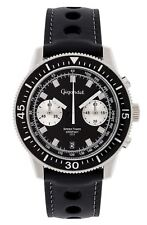 Uhr Armbanduhr Herrenuhr Chronograph Gigandet G7-005 Schwarz Datum Lederband
