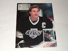 Beckett Hockey Magazine Issue #1 Sept/Oct 1990 Wayne Gretzky/Patrick Roy