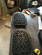 A 4 2 Av Price each antique arch top wall mount heating grate 10 x 14
