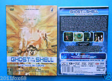 dvd anime ghost in the shell l'attacco dei cyborg,ghost in the shell 2 innocence