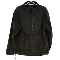 Greys Strata Fleece Jacket Mens Fishing Size Medium Brown Windproof Insulated M