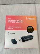 Belkin N300 High Performance Wireless Wi-Fi USB Adapter Dongle F9L1002