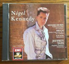 Mendelssohn & Bruch Violin Concertos CD EMI Classics, Nigel Kennedy