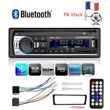Bluetooth 1 DIN Voiture Autoradio Stéréo MP3 Lecteur FM AUX-IN + Libre Frontière