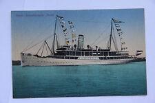 alte AK Schiff Salon Schnelldampfer Berlin