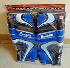 Franklin Street Hockey Extreme Pro Roller Goalie Pads 1200 New Junior 24'' Blue
