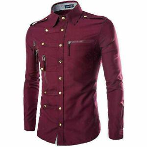 Stylish Blouse Long Sleeve Top Fashion Slim Fit New Business T Shirt