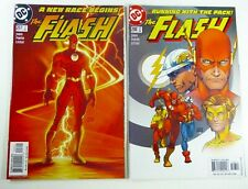 DC FLASH (2004) #207 #208 Michael TURNER Covers Lot NM (9.4) Ships FREE!