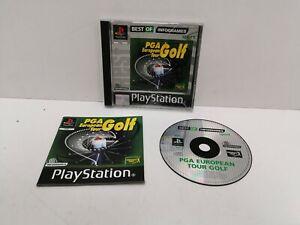 PS1 - PGA European Tour Golf. PlayStation One Game