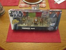 """STAR WARS """"TOY'S R US"""" EXCL. 2012 (PODRACER 5-PACK """"BOONTA EVE CLASSIC)!!!"""