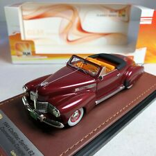 1/43 GLM Model Cadillac 62 Series Convertible Coupe Red Metallic 1941 GLM119703