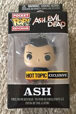 New Funko Pocket Pop! Keychain Ash Evil Dead Hot Topic Exclusive Vinyl figure