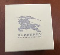 NEW Burberry Large Check Stamped Blue Face Sapphire Watch Mens BU9031 unisex
