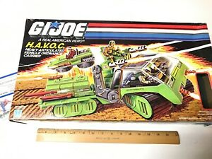 GI JOE HAVOC ORIGINAL IN BOX VINTAGE 1986 HASBRO RARE IN PACKAGE