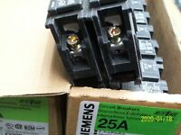 Siemens Murray MBK150A or MBK200A MBK225A Type EQ8683 EQ8685 Circuit Breaker