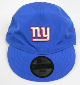 NEW YORK GIANTS NFL KIDS INFANT 9TWENTY ROYAL NEW ERA BOYS GIRLS CAP HAT NWT!