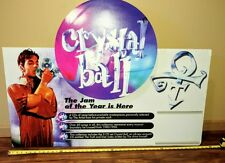 VERY RARE Prince CRYSTAL BALL store DISPLAY not poster FOUR FEET WIDE LOOK!