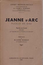 Jeanne d' arc-andre meifred devals-theatre Belfort-preface l. madelin