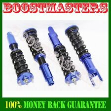 For 92-00 Civic, 93-97 Del Sol, 94-01 Integra Coilover Suspension Kit BLUE