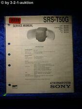Sony Service Manual SRS T50G (#2225)