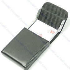 Leather Name Credit B Upright Business Card Case Holder
