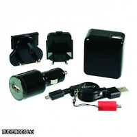 LOGIC3 Total Power Pack Charger iPod iPhone iPad Android Blackberry Kindle