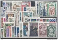ANNEE COMPLETE NEUVE XX 1962 TIMBRES LUXE