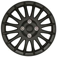 "Mitsubishi I-Car 15"" Lightning Matt Black Universal Car Wheel Trim Covers"