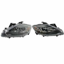New Set of 2 Left & Right Side Halogen Head Lamp Assembly Fits 13-15 Mazda CX-9
