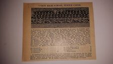 Union High School Turtle Creek & Apollo Pennsylvania 1926 Football Team Picture