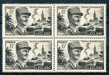 STAMP / TIMBRE FRANCE NEUF N° 815 ** BLOC DE 4 GENERAL LECLERC