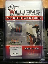 WILLIAMS GUN SIGHT FOR GLOCK MODEL 20,21,29,30,31,32,36 FIBER OPTIC FIXED SIGHT
