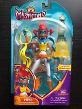"""MYSTICONS Striker 6.5"""" Piper Figure Doll & Topps Trading Card"""