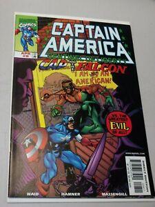 Captain America: Sentinel of Liberty #8 (April 1999) 1st Sam Wilson as Cap