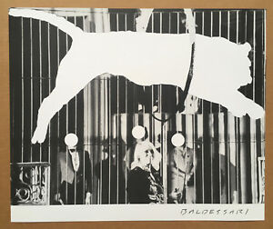 JOHN BALDESSARI - TIGER WITH NO STRIPES 2017 limited edition offset lithograph