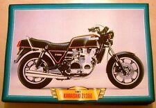 KAWASAKI Z1300 1981 Z 1300 CLASSIC 6 MOTORCYCLE BIKE PICTURE PRINT 1980'S