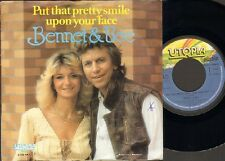 """BENNET & BEE Put that Pretty Smile Upon Your Face SINGLE 7"""" Rudy Bennet MOTIONS"""