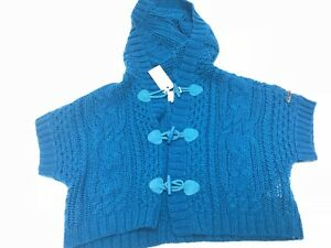 Diesel New Girls Kids KALIPSOK CABLE KNIT CROPPED SWEATER Sz: 5Y RTL: $129 P126