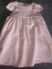 Baby Girls  gorgeous party Dress 9-12 Months Excellent Condition
