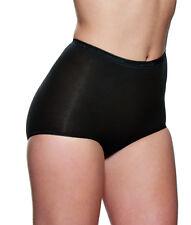 138910 Womens 2 Pack Maxi Plain Brief Szby Charnos Choose Color/sz 14 Black